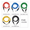 Free Shipping 11pcs/set Pull Rope Fitness Exercises Resistance Bands Latex Tubes Pedal Exerciser Body Training Workout Yoga