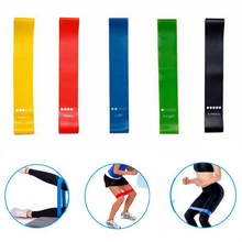 Free Shipping Yoga Crossfit 5 Level Rubber Training Pull Rope For Sports Pilates Expander Fitness Gum Gym Resistance Bands