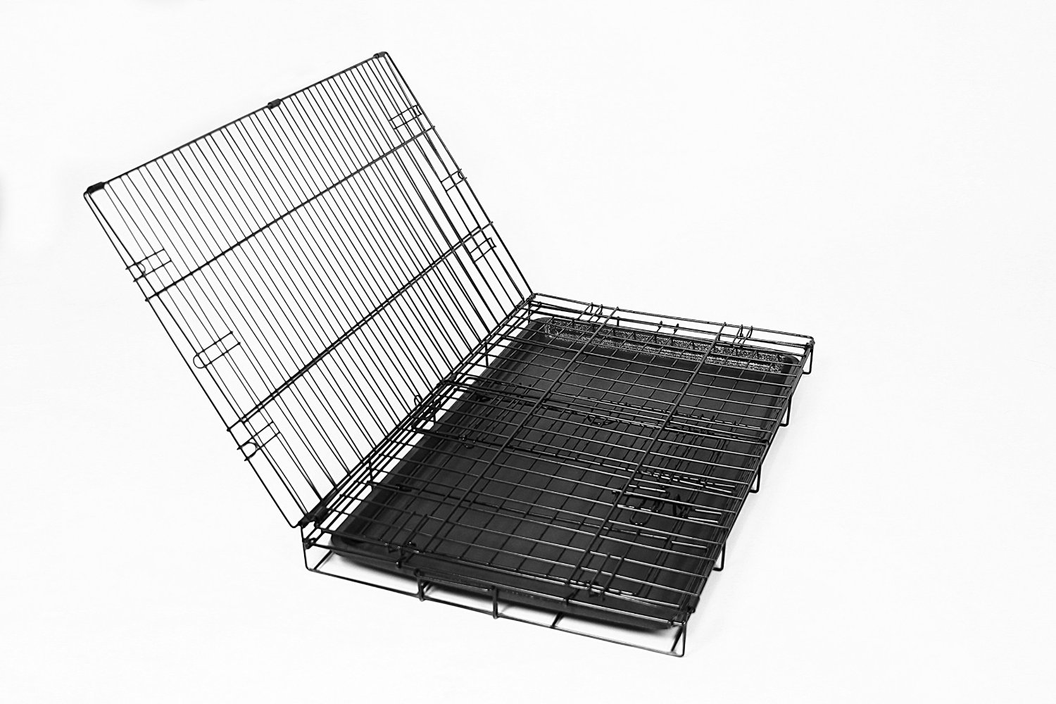 High Quality Heavy Duty Cheap Metal Foldable Pet Rabbit Cage With Removable Tray For Sale