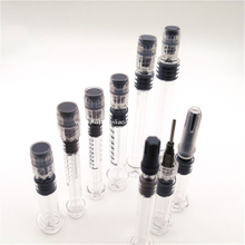 Empty Glass Dab Applicator Syringes