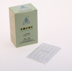 Professinal Handle Acupuncture Needle without Tube